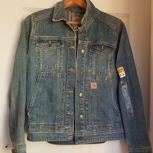 NWT Carhartt denim jacket